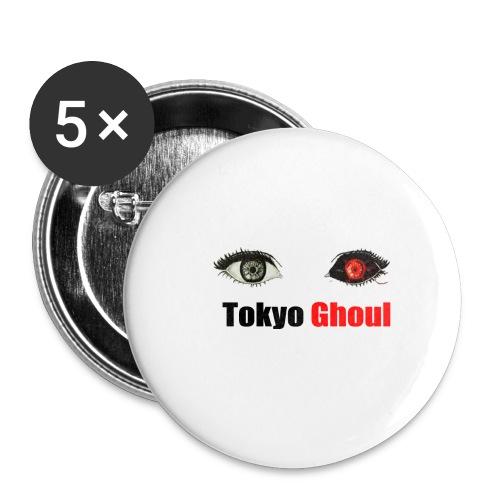 Tokyo Ghoul - Paquete de 5 chapas grandes (56 mm)