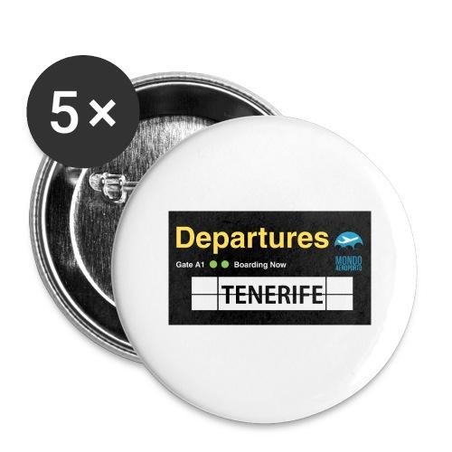 TENERIFE png - Confezione da 5 spille grandi (56 mm)