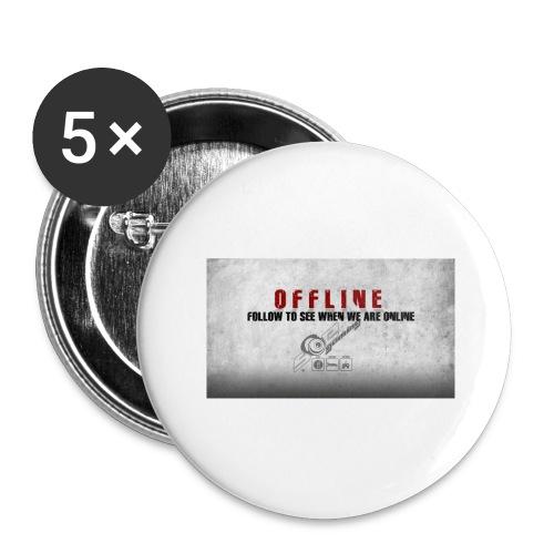 Offline V1 - Buttons large 2.2''/56 mm(5-pack)