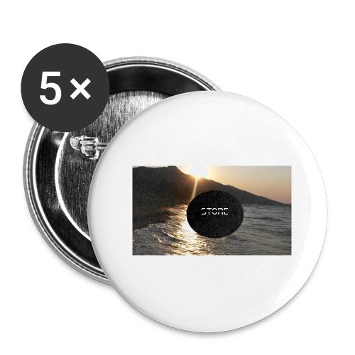 Mousepad - Buttons groß 56 mm (5er Pack)
