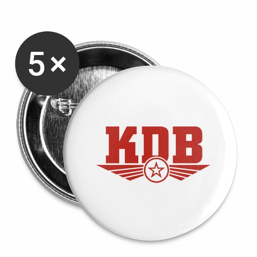 KDB - Buttons large 2.2''/56 mm (5-pack)