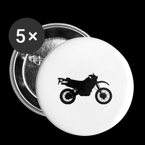 Four Wheels Moves The Body, Two Wheels Moves The S - Buttons large 2.2''/56 mm(5-pack)