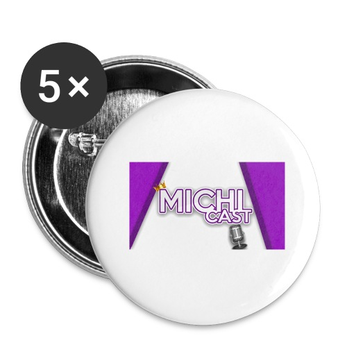 Camisa MichiCast - Buttons large 2.2''/56 mm (5-pack)