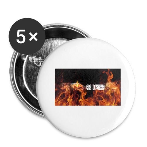 Barbeque Chef Merchandise - Buttons large 2.2''/56 mm(5-pack)