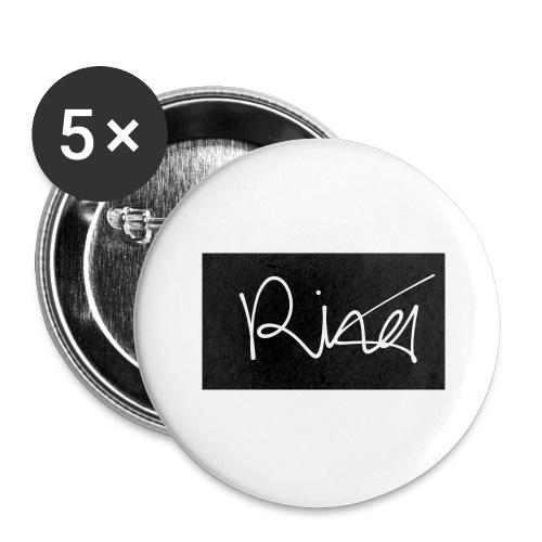 Autogramm - Buttons groß 56 mm (5er Pack)