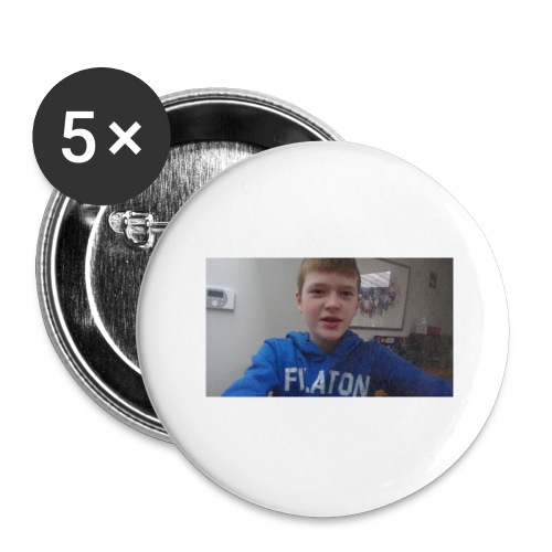 roel t-shirt - Buttons groot 56 mm (5-pack)