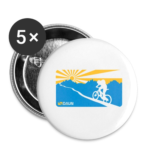 Epic Trail - Buttons groß 56 mm (5er Pack)