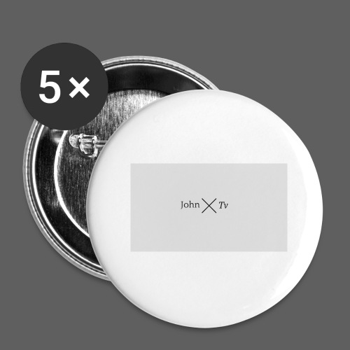 john tv - Buttons large 2.2''/56 mm (5-pack)