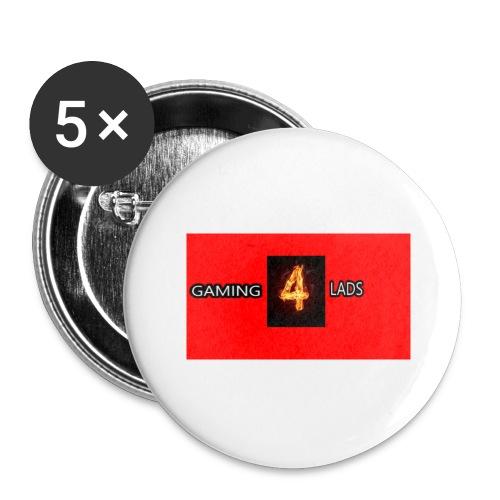 Merch - Lot de 5 grands badges (56 mm)