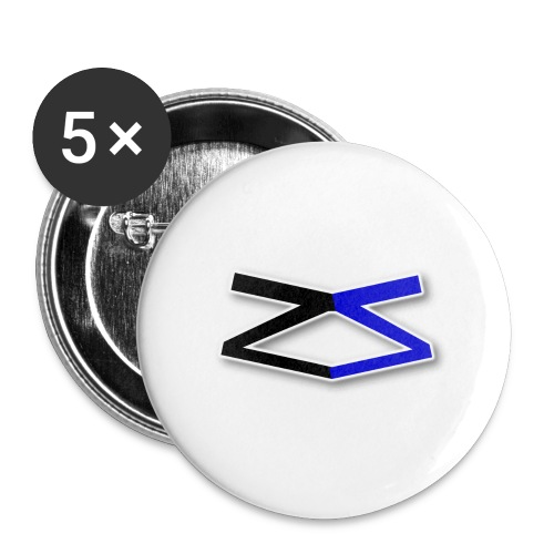 ZeroSeal - Buttons large 2.2''/56 mm(5-pack)