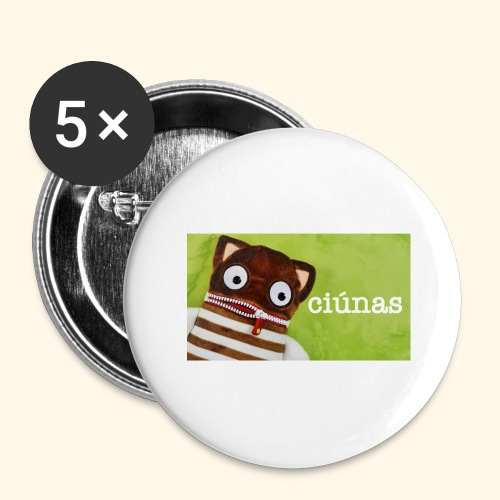 ciunas - Buttons large 2.2''/56 mm (5-pack)