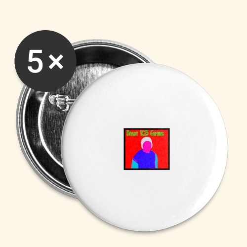 Beast 1425 gaming logo - Buttons large 2.2''/56 mm (5-pack)
