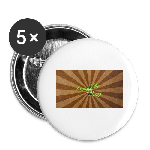 THELUMBERJACKS - Buttons large 2.2''/56 mm(5-pack)