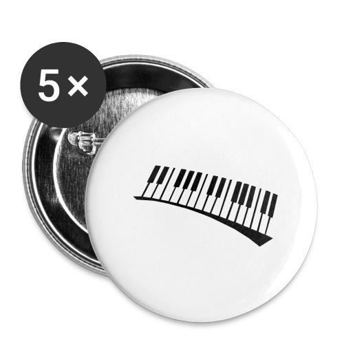 Piano - Paquete de 5 chapas grandes (56 mm)