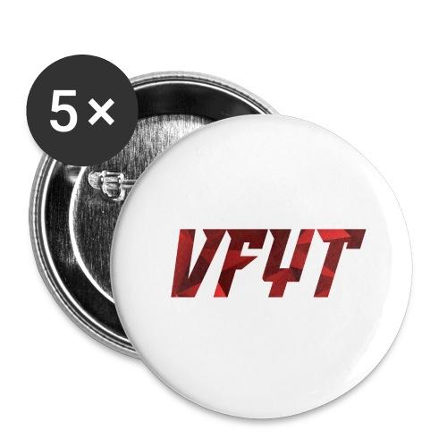 vfyt shirt - Buttons groot 56 mm (5-pack)