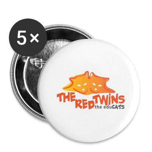 TRT Logo - Confezione da 5 spille grandi (56 mm)