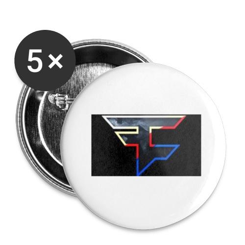 FAZEDREAM - Buttons large 2.2''/56 mm(5-pack)