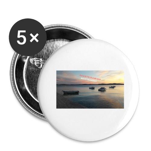 Merch - Buttons groß 56 mm (5er Pack)