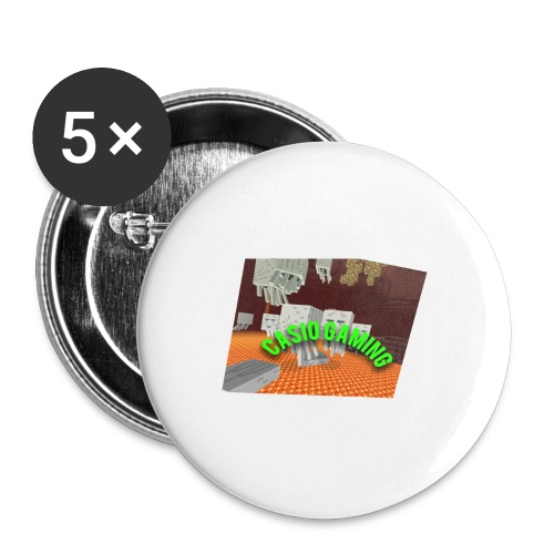 Logopit 1513697297360 - Buttons groot 56 mm (5-pack)