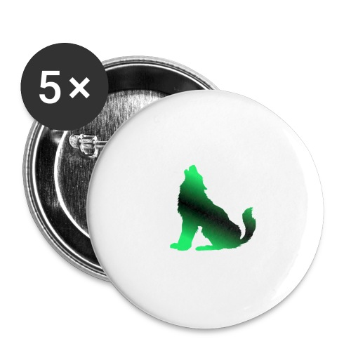 Howler - Buttons large 2.2''/56 mm(5-pack)