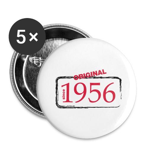 1956 - Buttons groß 56 mm (5er Pack)