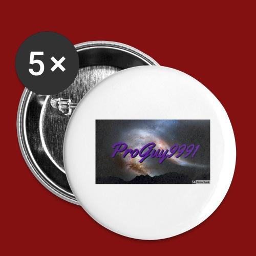 ProGuy loggan - Stora knappar 56 mm (5-pack)