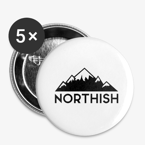 Northish - Stora knappar 56 mm (5-pack)