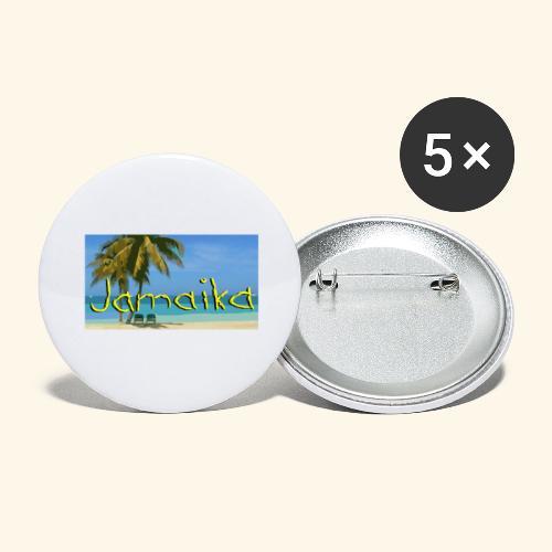 JAMAIKA - Buttons groß 56 mm (5er Pack)