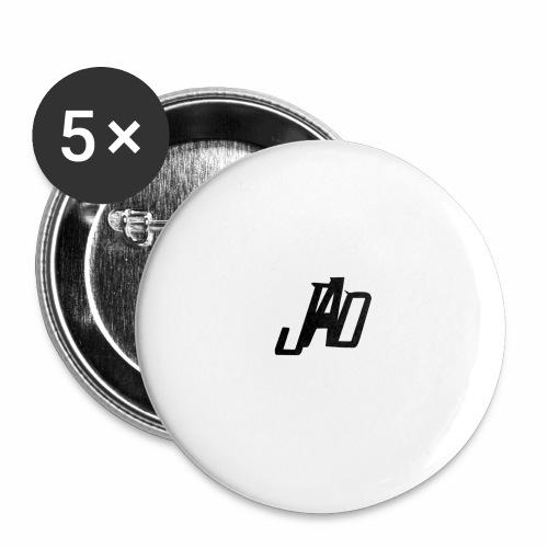 Jenna Adler Designs - Stora knappar 56 mm (5-pack)