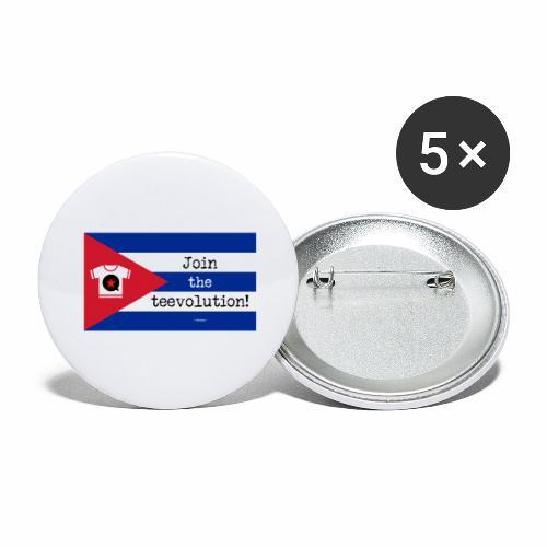 Tee Guevara - Buttons groot 56 mm (5-pack)