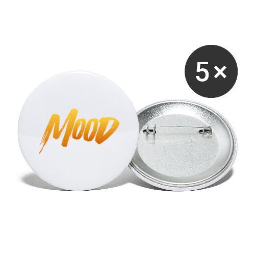 MOOD - Buttons/Badges stor, 56 mm (5-pack)