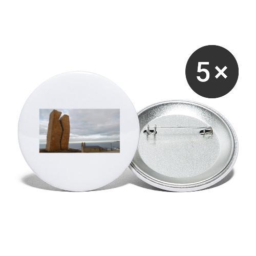 Muxia - Confezione da 5 spille grandi (56 mm)