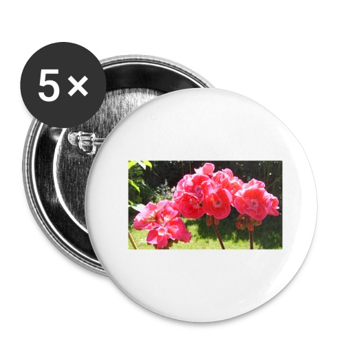 floral - Buttons large 2.2''/56 mm(5-pack)