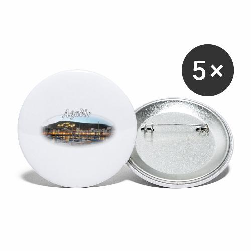 Agadir, Morocco - Buttons large 2.2''/56 mm(5-pack)