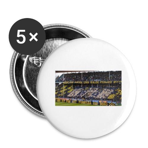 #AIK - Stora knappar 56 mm (5-pack)