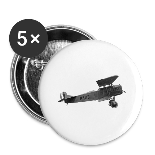 Paperplane - Buttons large 2.2''/56 mm(5-pack)