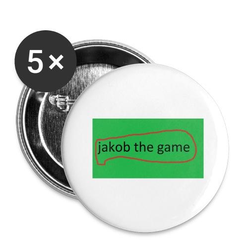 jakobthegame - Buttons/Badges stor, 56 mm (5-pack)