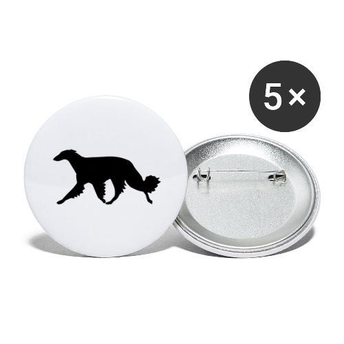 Barsoi - Buttons groß 56 mm (5er Pack)