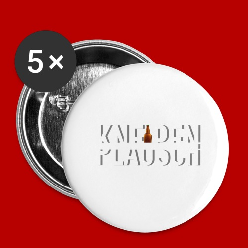 Kneipenplausch Big Edition - Buttons groß 56 mm (5er Pack)