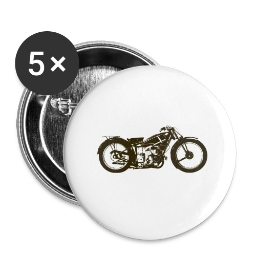 Classic Cafe Racer - Buttons large 2.2''/56 mm(5-pack)