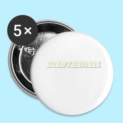 birththeoro green - Buttons groot 56 mm (5-pack)