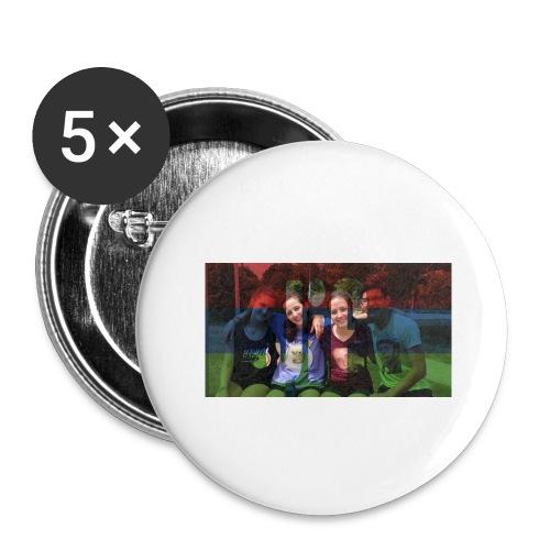 PV-Bike Trip Propaganda - Buttons groß 56 mm (5er Pack)