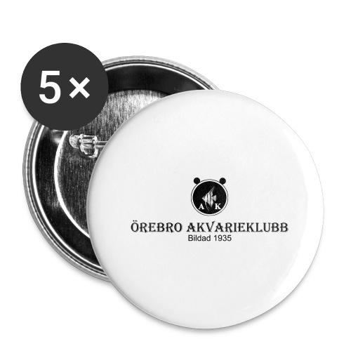 Nyloggatext1 - Stora knappar 56 mm (5-pack)
