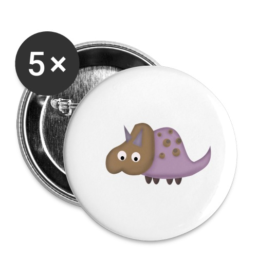 Dino 1 - Buttons large 2.2''/56 mm(5-pack)