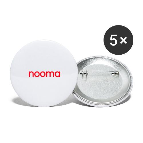 Nooma - Buttons groot 56 mm (5-pack)