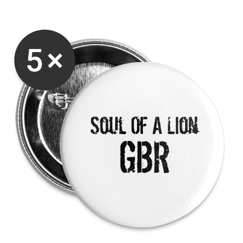 gbuwh3 - Buttons large 2.2''/56 mm (5-pack)