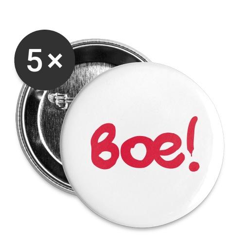 Boe Spruch - Buttons groß 56 mm (5er Pack)