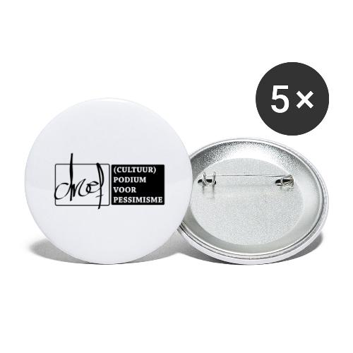 Droef Cultuurpodium - Buttons groot 56 mm (5-pack)