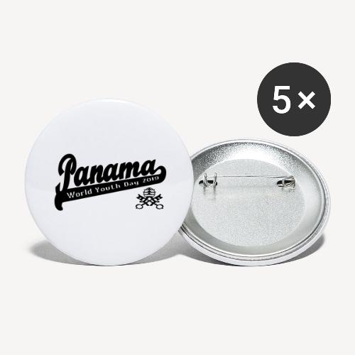 panamamono - Buttons large 2.2''/56 mm (5-pack)