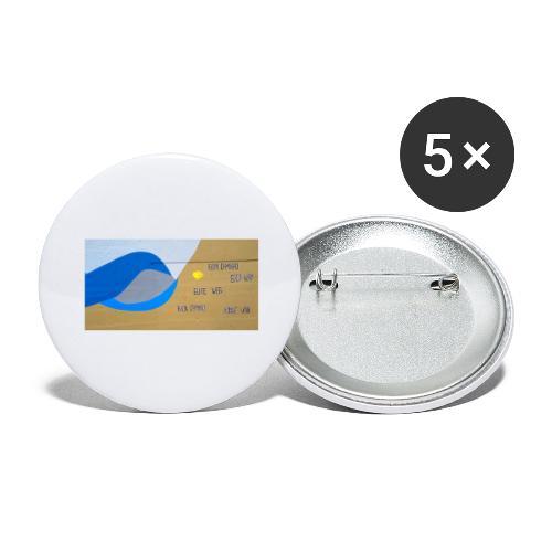 bom caminho - Confezione da 5 spille grandi (56 mm)